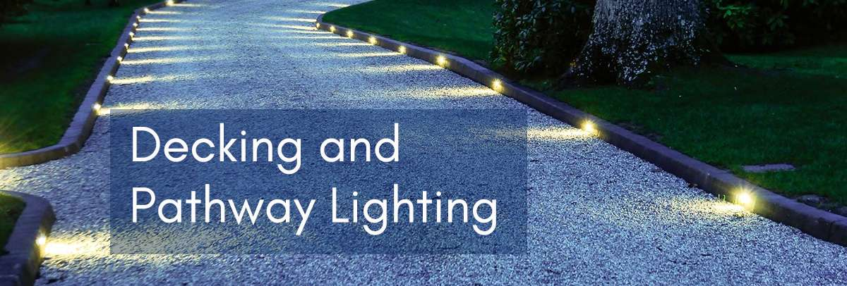 decking and pathway lighting